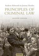 Ashworth & Horder: Principles of Criminal Law 7e