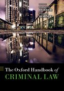 Cover for The Oxford Handbook of Criminal Law