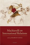 Cover for Machiavelli on International Relations