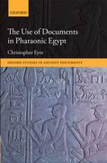 Cover for The Use of Documents in Pharaonic Egypt