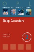 Cover for Sleep Disorders (Oxford Psychiatry Library)