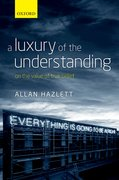 Cover for A Luxury of the Understanding
