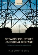 Cover for Network Industries and Social Welfare