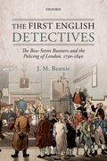 Cover for The First English Detectives