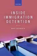 Cover for Inside Immigration Detention
