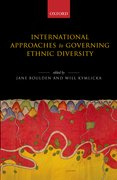 Cover for International Approaches to Governing Ethnic Diversity