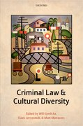 Cover for Criminal Law and Cultural Diversity