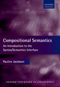 Cover for Compositional Semantics