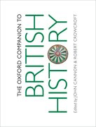 Cover for The Oxford Companion to British History