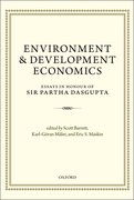 Environment and Development Economics Essays in Honour of Sir Partha Dasgupta