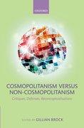 Cover for Cosmopolitanism versus Non-Cosmopolitanism
