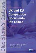 Dougan: UK & EU Competition Documents 8e
