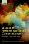 Cover for Sources of National Institutional Competitiveness