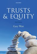 Cover for Trusts and Equity