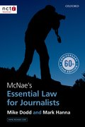 Hanna & Dodd: McNae's Essential Law for Journalists 22e