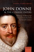 Cover for John Donne and the Conway Papers