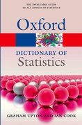 Cover for A Dictionary of Statistics 3e