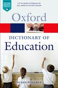 Cover for A Dictionary of Education