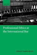 Cover for Professional Ethics at the International Bar