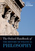 Cover for The Oxford Handbook of the History of Political Philosophy