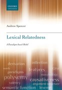 Cover for Lexical Relatedness
