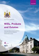 Cover for Law Society of Ireland Wills, Probate and Estates