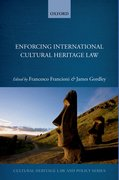 Cover for Enforcing International Cultural Heritage Law
