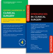 Cover for Oxford Handbook of Clinical Surgery and Emergencies in Clinical Surgery Pack