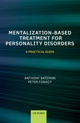 Cover for Mentalization Based Treatment for Personality Disorders