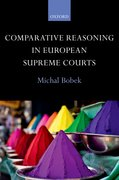 Cover for Comparative Reasoning in European Supreme Courts
