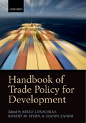 Cover for Handbook of Trade Policy for Development