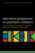 Cover for Alternative Perspectives on Psychiatric Validation