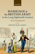 Cover for Marriage and the British Army in the Long Eighteenth Century