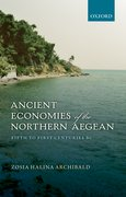 Cover for Ancient Economies of the Northern Aegean