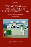 Cover for Formalism and the Sources of International Law