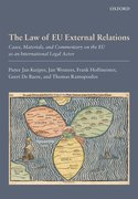Cover for The Law of EU External Relations