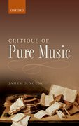 Cover for Critique of Pure Music