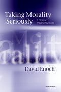 Cover for Taking Morality Seriously