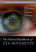 Cover for Oxford Handbook of Eye Movements