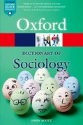 Cover for A Dictionary of Sociology