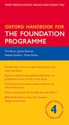 Cover for Oxford Handbook for the Foundation Programme