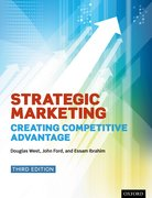 Cover for Strategic Marketing