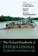 Cover for The Oxford Handbook of International Climate Change Law