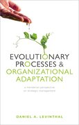 Cover for Evolutionary Processes and Organizational Adaptation