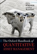 Cover for The Oxford Handbook of Quantitative Asset Management