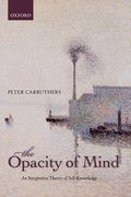 Cover for The Opacity of Mind