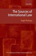 Cover for The Sources of International Law