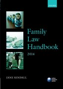 Cover for Family Law Handbook 2014