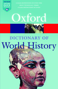 Cover for A Dictionary of World History