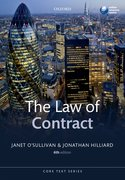 Cover for The Law of Contract